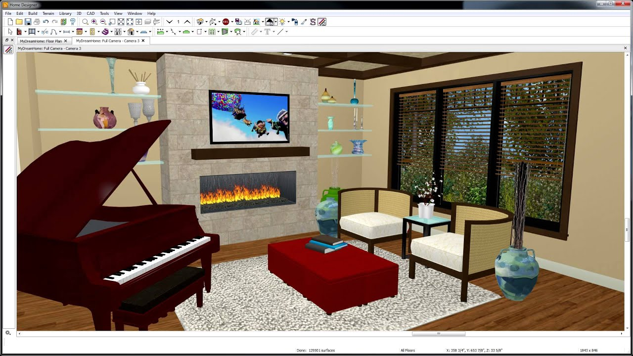 5 home designer 2015 - interiors - youtube