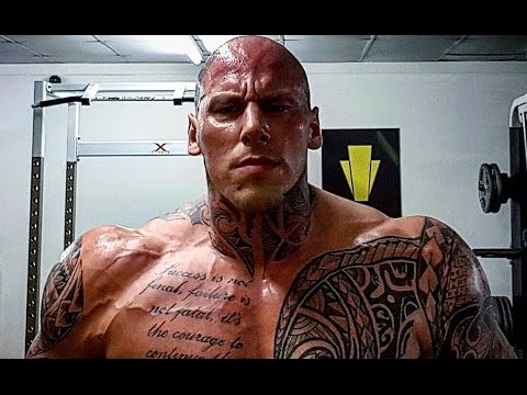 Martyn Ford Training for Movie Boyka:...