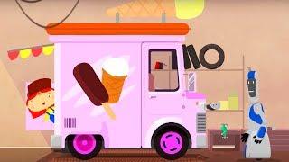 Мультфильм про машинки - Доктор Машинкова - Машина мороженого - новая серия