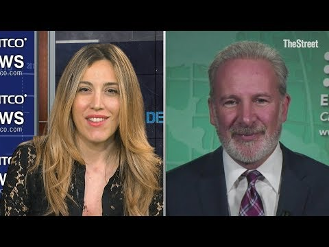 """Gold Could Be The Pin That Pricks Bitcoin's Bubble"" - Peter Schiff Part 2"
