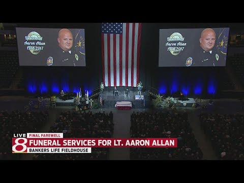 Funeral services for Lt. Aaron Allan