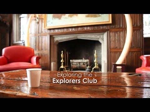 Inside the secret Explorers Club HQ
