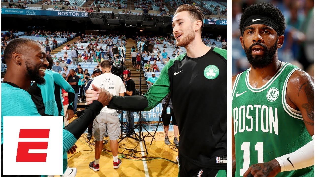 Celtics vs. Hornets NBA Preseason Highlights: Gordon Hayward Kyrie Irving reunite | ESPN