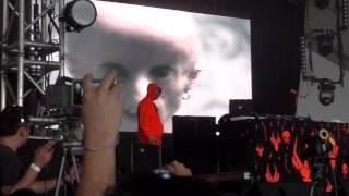 Die Antwoord DJ Hi-Tek Rulez Live Corona Capital Mexico 2012 Day 1