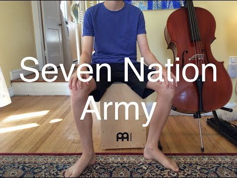 13 Year Old Plays Seven Nation Army on the Cello