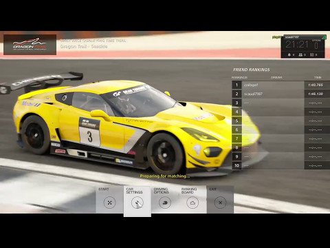 GT Sport Live Race With Commentary Gr.3 Dragon Trail 5/4/17