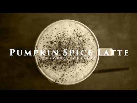[No Music] How to Make Pumpkin Spice Latte