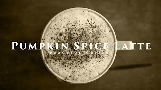 [No Music] How to Make Pumpkin Spice Latte