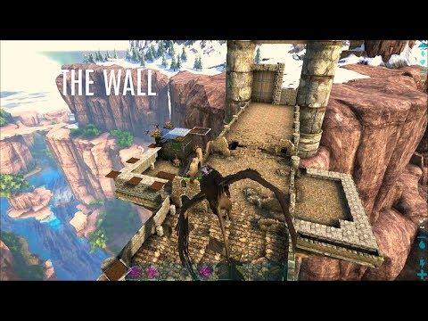 STARTING THE WALL w/ Base Changes - Ragnarok PVP (E8) - ARK Survival