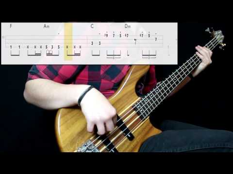 Beyoncé - All Night (Bass Only) (Play Along Tabs In Video)