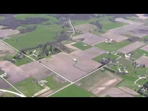 Illinois State Historical Society Aerial Tour - Hancock County, IL