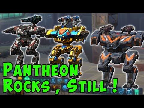 PANTHEON Hangar STILL ROCKS! War Robots Mk2 Ares, Hades & Nemesis Gameplay WR
