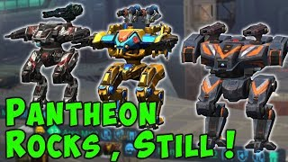 PANTHEON Hangar STILL ROCKS! War Robots Mk2 Ares, Hades & Nemesis Gameplay WR YouTube Videos