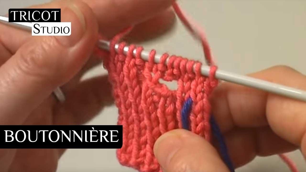 boutonniere verticale tricot phildar