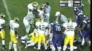 2003: Michigan 41 Northwestern 10