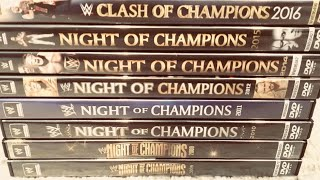 WWE Night Of Champions PPV DVD Collection Review