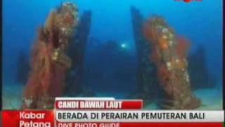 Candi di Bawah Laut Bali - Indonesia