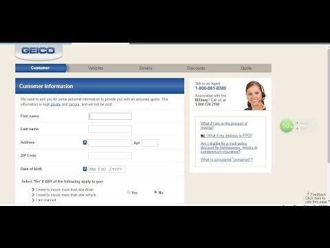 How To Get A Free GEICO Auto Insurance Quote 60 YouTube Classy Geico Insurance Quotes
