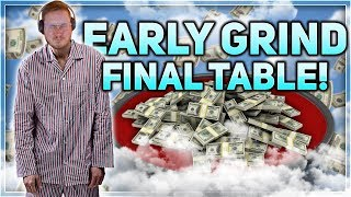 $55 EARLY GRIND FINAL TABLE!!!   PokerStaples Stream Highlights