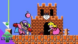 Peach would be OP in Super Mario Bros.