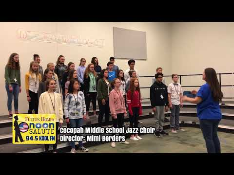 Cocopah Middle School Noon Salute Video