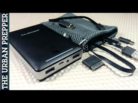 RAVPower Deluxe Power Bank: 13000mAh, 3rd Gen, iSmart by TheUrbanPrepper