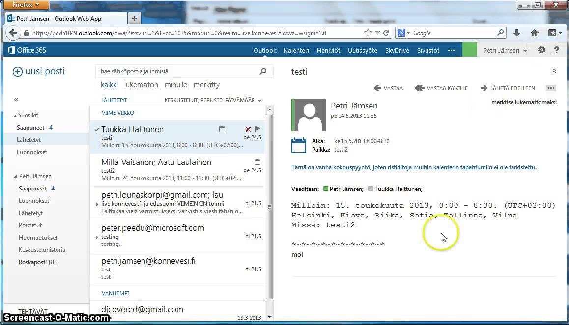 Sähköposti 365