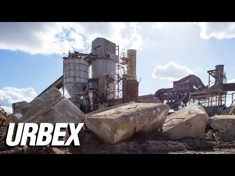 Exploring a Massive Abandoned Mine Facility