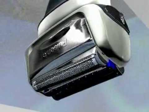 Sensitive flexing head of Braun series 7 790cc ~ 9595 pulsonic shaver - YouTube