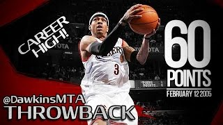 Allen Iverson Full Highlights 2005.02.12 vs Magic - 60 Pts, Career-HIGH!