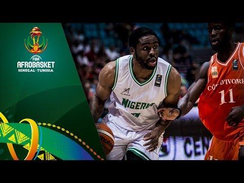 Nigeria v Cote D'Ivoire - Highlights - FIBA AfroBasket 2017