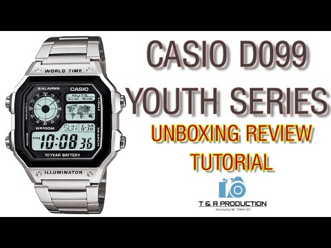 CASIO D099 YOUTH SERIES || DIGITAL WATCH 🔥 UNBOXING REVIEW TUTORIAL 2019