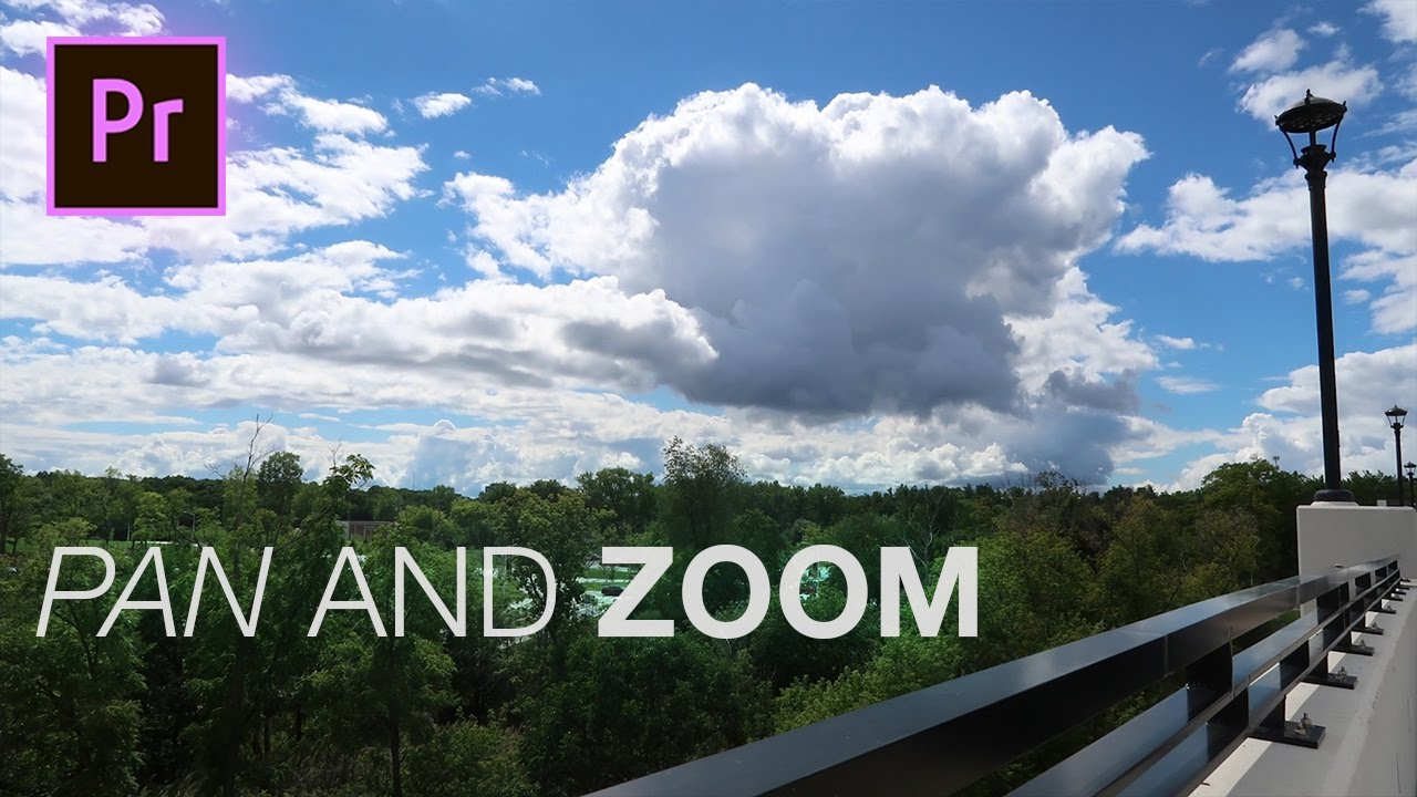 How to Fake Camera Pan and Zoom Shots in Adobe Premiere