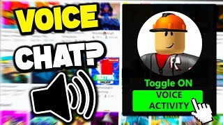 what IF roblox added voice chat?