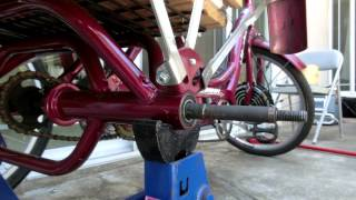 2,600 Mile E-Trike: Repairing Bent Axle on Schwinn Meridian