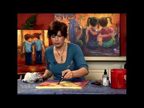"Karrie on Canvas (FULL EPISODE!!!) ""Flowers"""