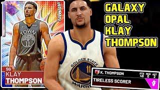 GALAXY OPAL KLAY THOMPSON GAMEPLAY! THE TRAIL CHEESE GOD IS BACK! NBA 2k19 MyTEAM