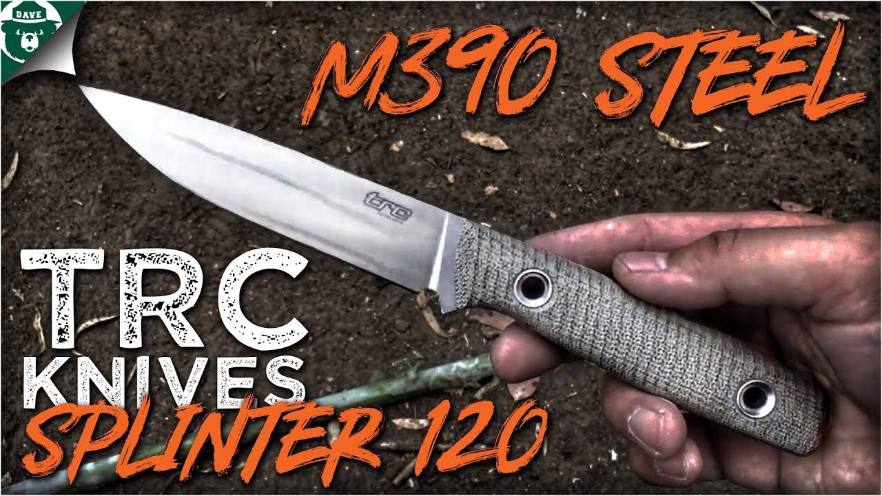 Download TRC Knives Splinter 120 Böhler M390:  Bushcraft Companion Knife