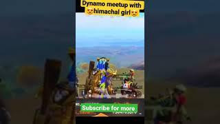 Dynamo meet girl fan   Dynamo funny video   Dynamo gaming pubg mobile live   #Dynamo #shorts