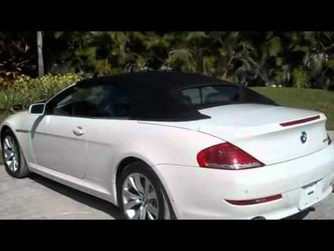 Used 2008 BMW 650i Convertible Miami FL - YouTube