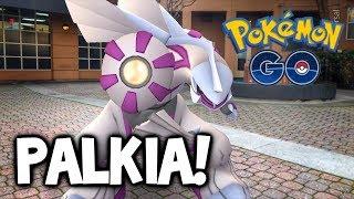 CATCHING PALKIA: EASY OR HARD?! POKÉMON GO PALKIA RAIDS!