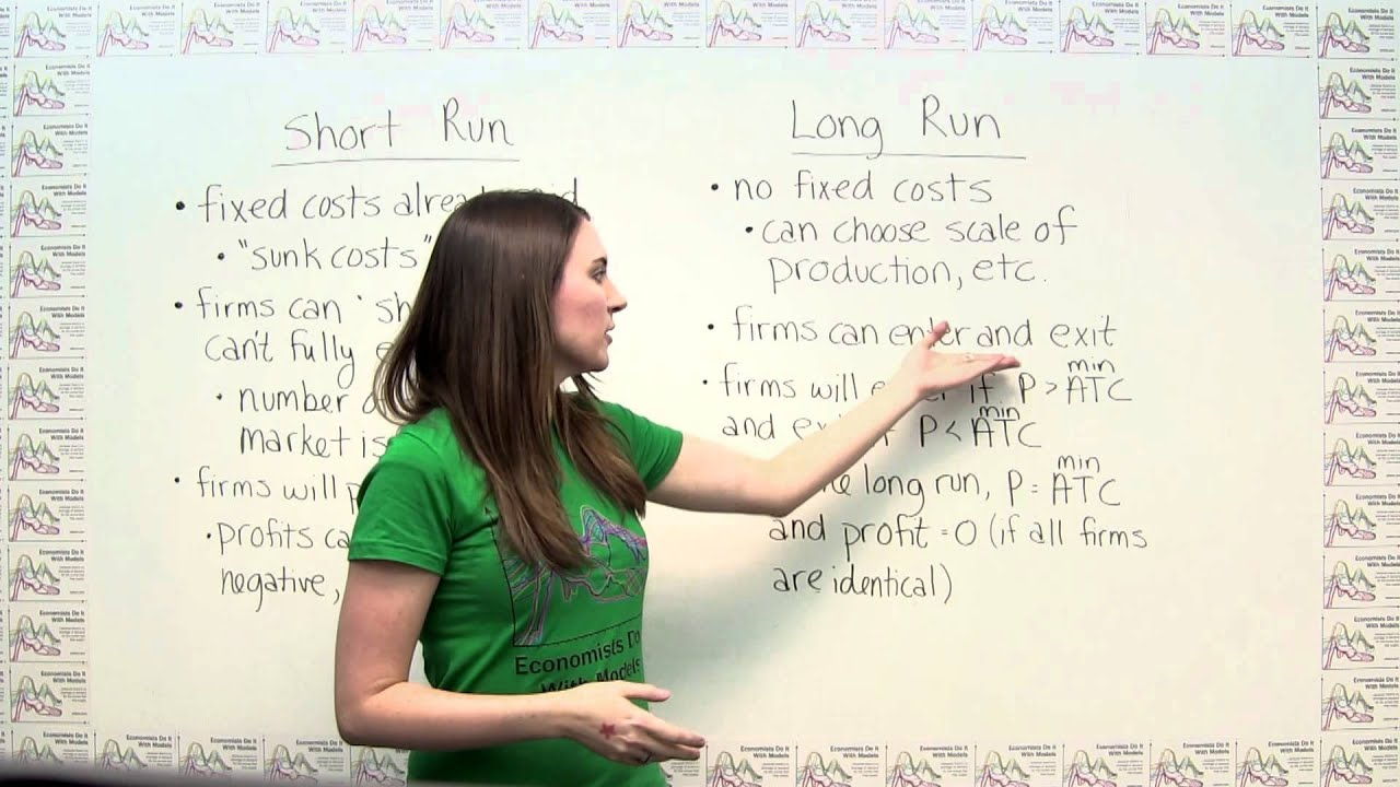 The Short Run versus The Long Run - YouTube