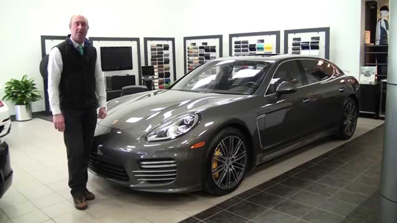 2015 porsche panamera turbo s executive 150237 youtube. Black Bedroom Furniture Sets. Home Design Ideas