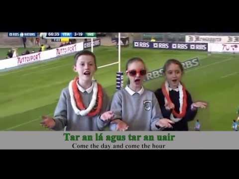 Irelands Call as Gaeilge -Scoil Phadráig Westport