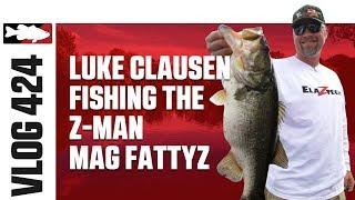 Luke Clausen Fishing the Z -Man Mag Fattyz in Florida - Tackle Warehouse VLOG #424