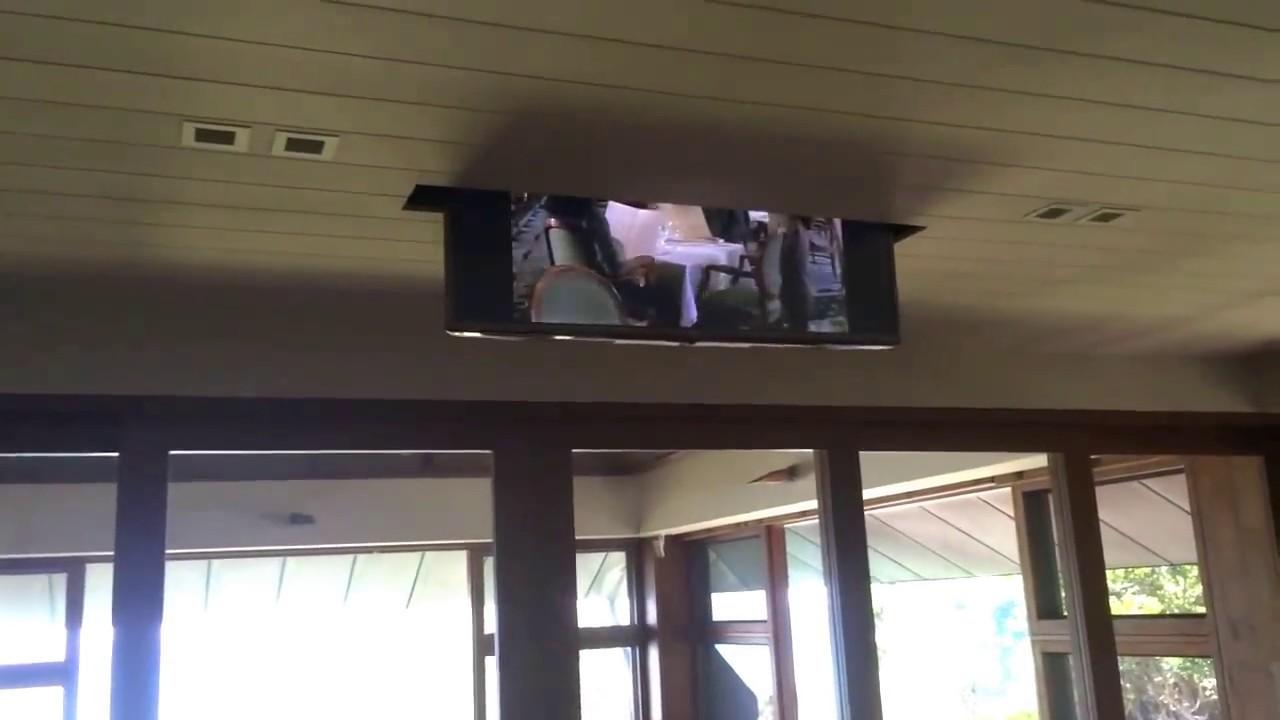 Porta Tv Da Soffitto.Tv Moving Mli Staffe Tv Motorizzate Da Soffitto