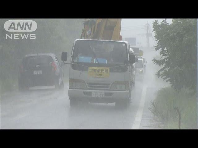 九州豪雨から2週間-福岡の一部で2日続けて避難指示-17-07-19