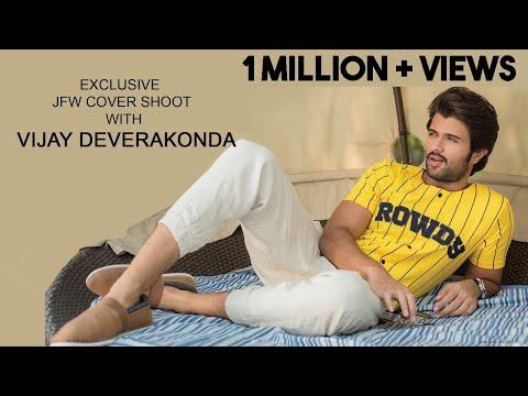 South Indian Actot Vijay Deverakonda Poses For JFW cover shoot