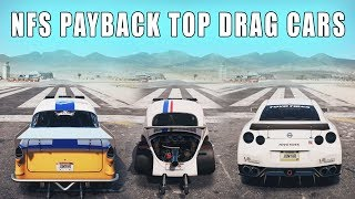 NFS Payback - Top Drag Cars