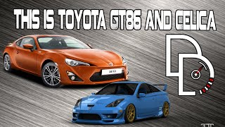 This is Toyota GT86 and Celica.  Тест-драйв от DiDrive!